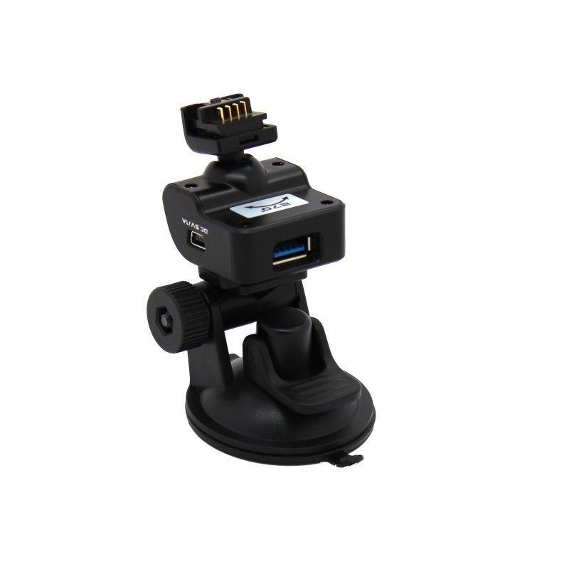 TrueCam Ax Complete mount with speed camera detection - 3M adhesive