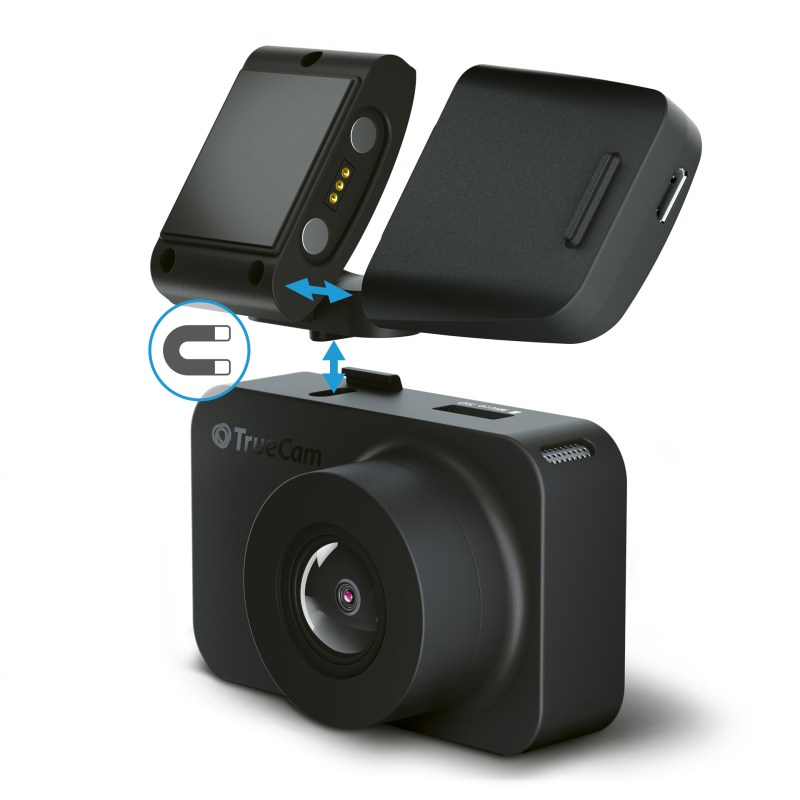 TrueCam M5 GPS WiFi (with speed camera alert)